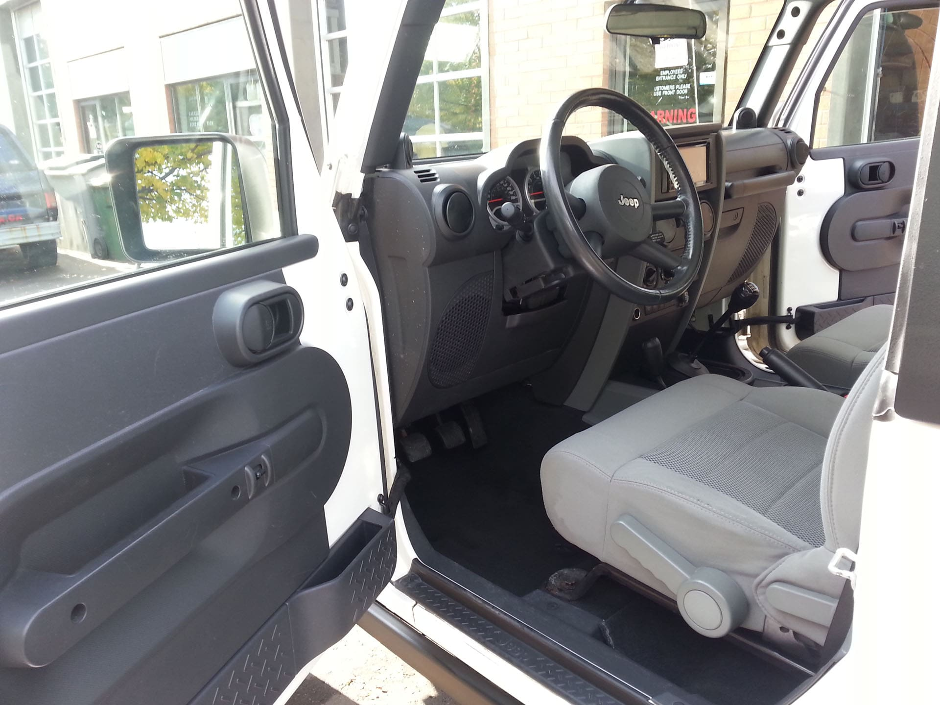 Jeep Interior Detailing